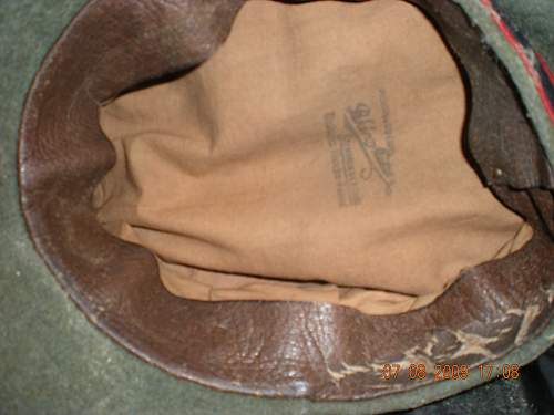 SS visor hat. Is it a fake?