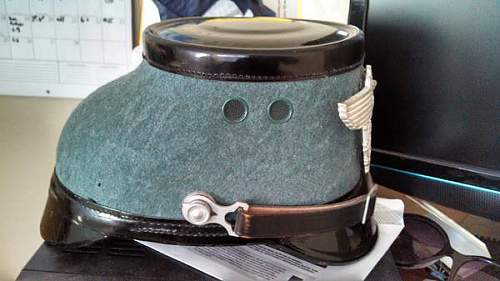 Nazi Police shako, but too good to be true?