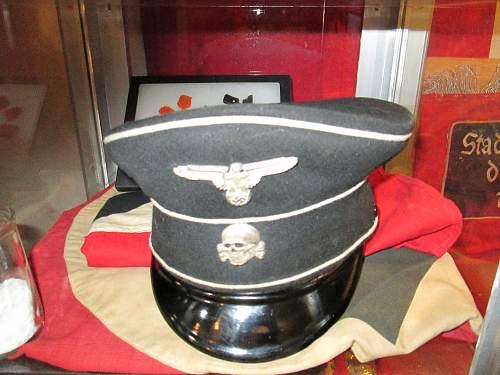 SS Nco visor hat 1938