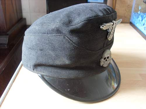 Ss visor cap from hungarian flea market. What is it?