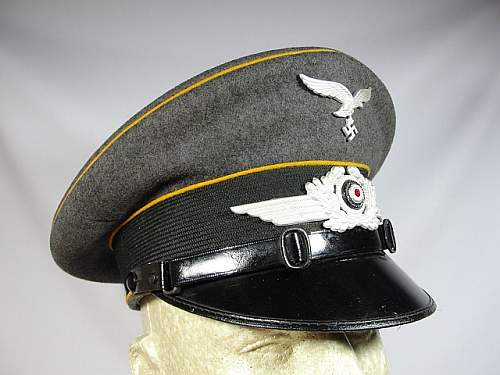 Luftwaffe Flight NCO Visor help