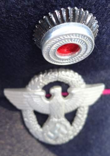 Fire Police Visor