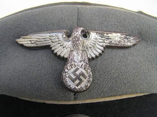 SS NCO visor ex-Heer???