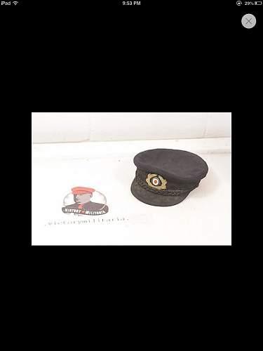 Kriegsmarine cap?