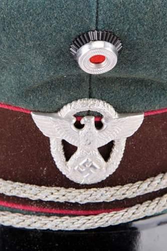 Po-FSP Feuerschutzpolizei Schirmmuetzen