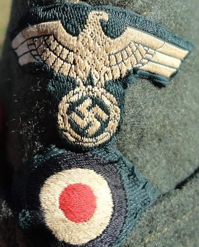 Czech made Heer Feldmutze