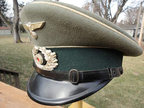 Wehrmacht NCO Visor Real or Fake?