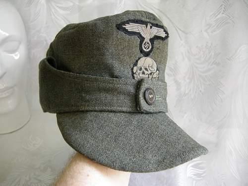 Pz.SS M43 cap (Wittmann-style)