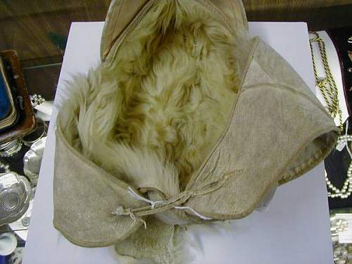 Is this fur cap anything seen before, or front made, or fantasy item?
