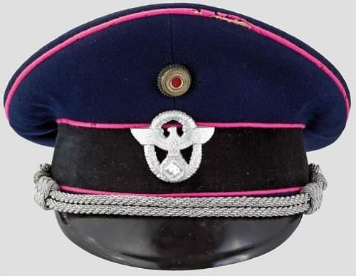 Important! Feuerschutzpolizei cap opinions