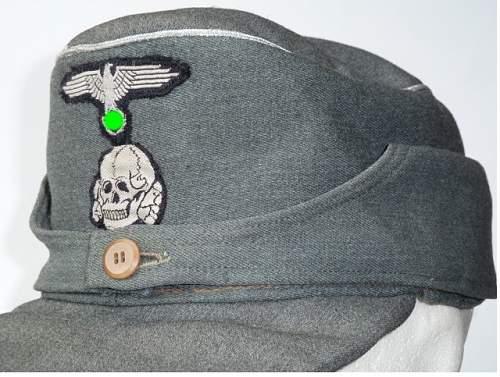 Waffen-SS M43 cap - Real ?