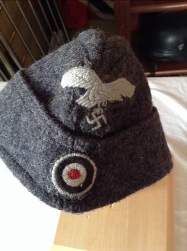 """luftwaffe """"garrison"""" hat"""