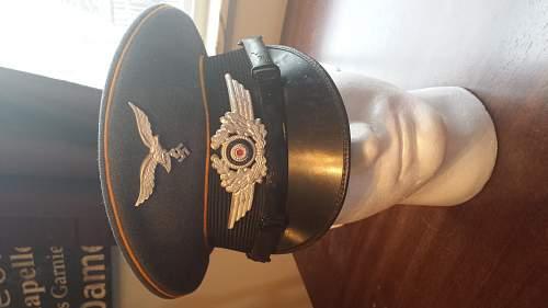 Luft NCO Visor, Help Needed