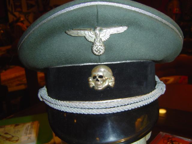Need Help Waffen Ss Visor Hat