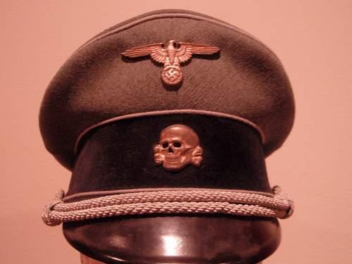 Waffen SS Visor hat