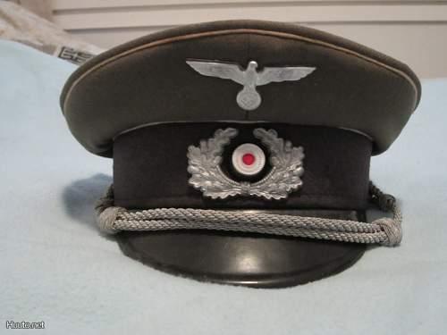 SS and WH visor caps - Fake?