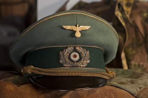 Generals Schirmmutze