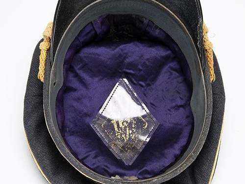 The purple general cap