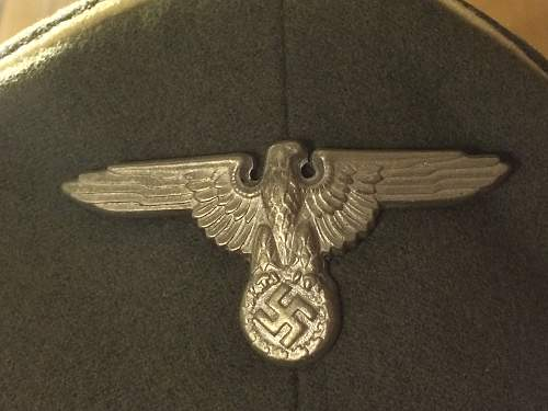 This is my first time buying a Waffen SS visor and I need help identifying its authenticity