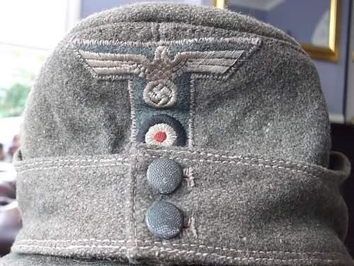 Help please German M43 cap opinions