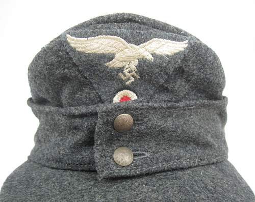 reproduction Luftwaffe M43 cap