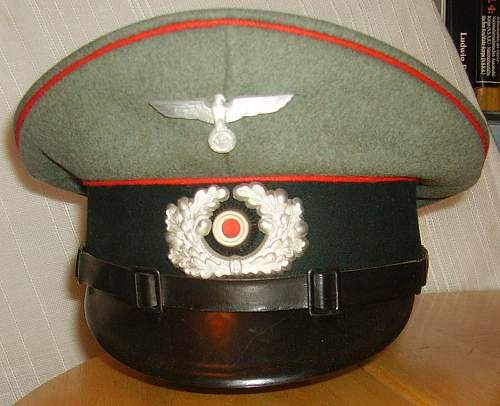 ARMY PANZER NCO'S VISOR CAP- Authentic or Not?