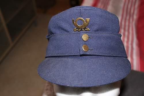 postschutz/reichspost cap 1937