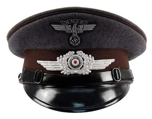HJ - Adolf Hitler School Visor!....