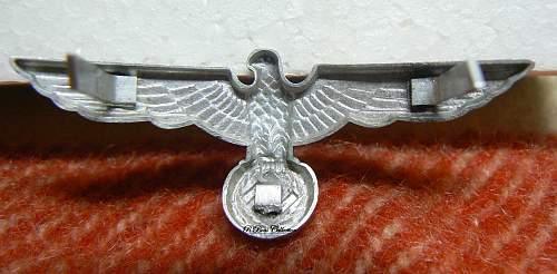 Question: Heer cap eagle