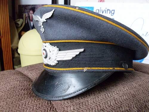 Luftwaffe NCO cap (original??)