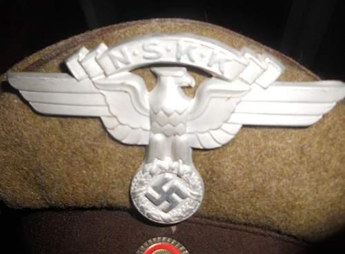 NSKK Visor Cap for opinions...