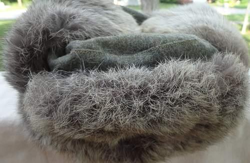 German Rabbit Fur Cap