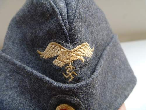 My Luftwaffe Side Cap for review