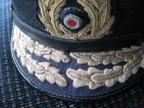 german kriegsmarin admiral visor hat