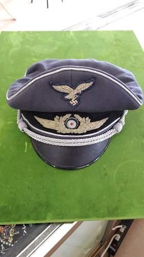Luftwaffe officer's cap