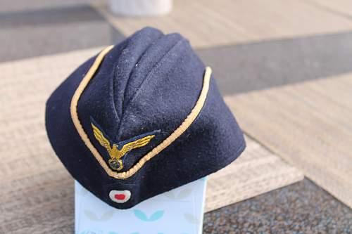 Kriegsmarine Cap Please Help to ID if real?