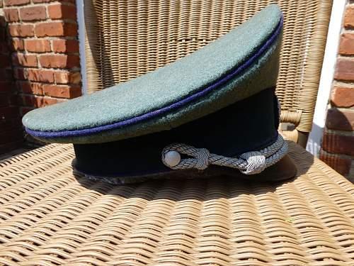 Gerbirgsjager visor cap