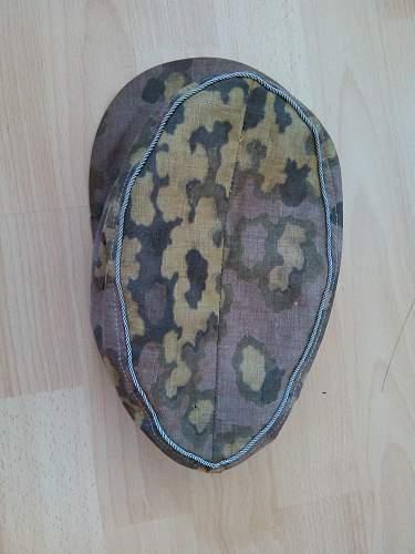 """Camouflage Cap, """"Eichenbruchmuster"""""""