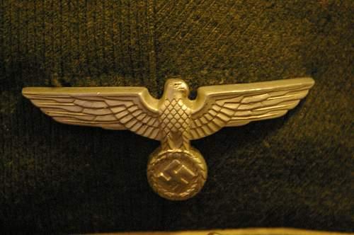 Wehrmacht officer's visor