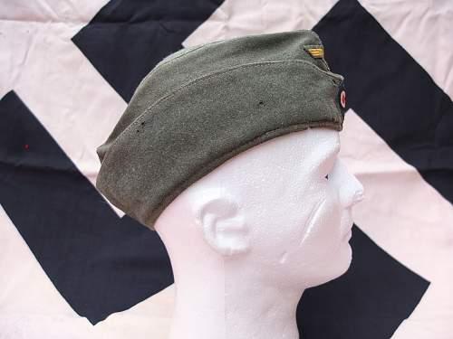 Kriegsmarine coastal artillery cap: Opinion please