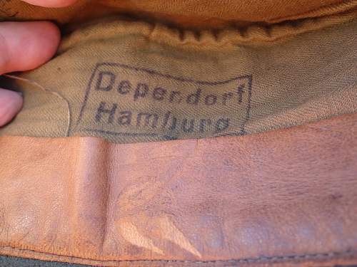 German Issue Czech cap? Original? Did they exist ? Volksstrum?