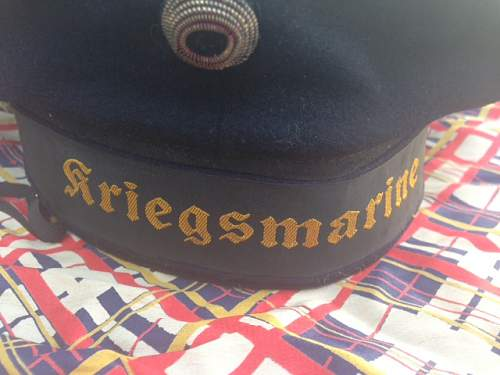 Kriegsmarine Hat-Real or Fake?