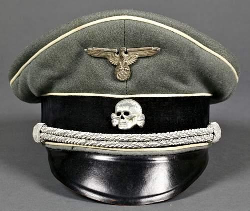 Elite panzer cap
