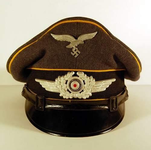 Luftwaffe visor