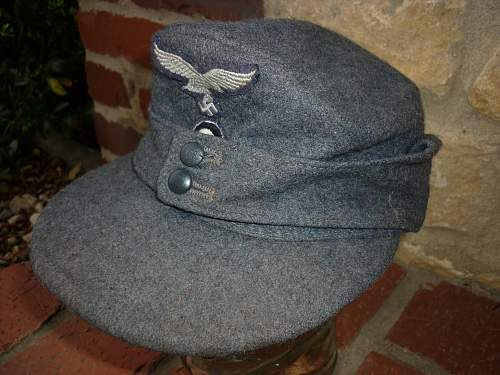 Luftwaffe Peaked Cap for Review