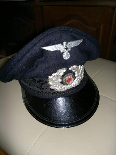 Original veterans visor hat? What type? Please help!