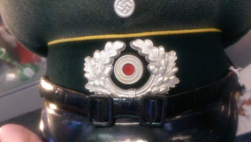 German EM Signal Hat (according to sellers description)