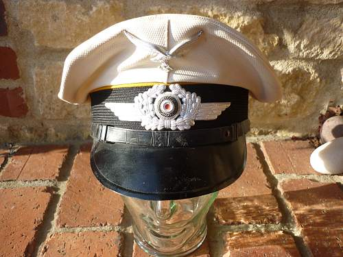 Luftwaffe NCO Summer Peaked Cap -  opinions please?