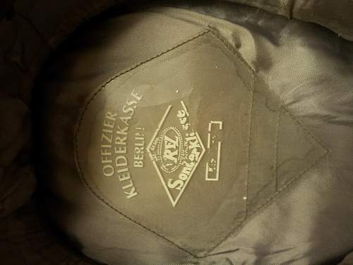 SS visor cap real? Help please