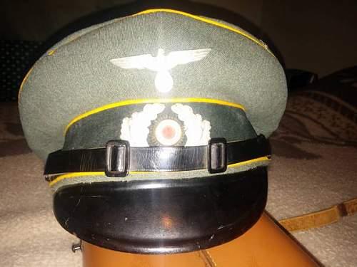 Cavalry Visor - Authentic??